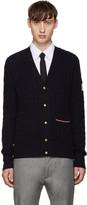 Moncler Gamme Bleu Navy Cashmere Cardigan
