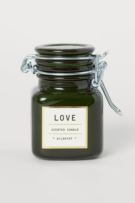 H&M Small candle in a glass jar