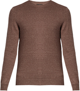 A.P.C. Crew neck cotton-blend sweater