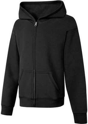Hanes Girls ComfortSoft Eco Smart Full-Zip Hoodie Sweatshirt, Sizes 4-16