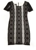 Un Deux Trois Girl's Lace Shift Dress