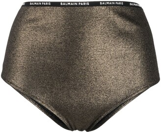Balmain High-Waisted Briefs
