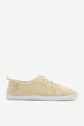 Ardene Pineapple Laced Sneakers