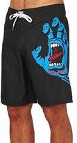 Santa Cruz Board Shorts Screaming Hand Board Shorts - Black