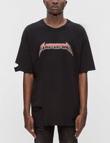 Mastermind Japan Distressed Mastermind Graphic S/S T-Shirt (Ver. 2)