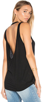 Cheap Monday Flicker Tank in Black