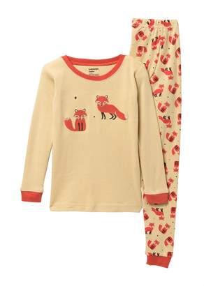 Leveret Fox Pajama Set (Toddler, Little Boys, & Big Kids)