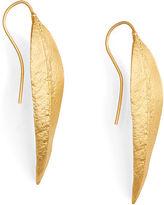 Ralph Lauren Gold-Plated Leaf Earrings