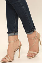 Liliana Toulouse Silver Dress Sandals