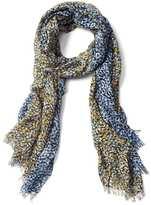 Gap Floral fringe scarf