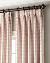 Thomas Laboratories Misti Modern Luxuries Tenley 3-Fold Pinch-Pleat Curtain with Blackout Lining, 108