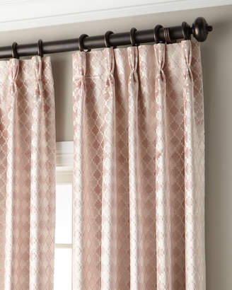 Tenley 3-Fold Pinch-Pleat Curtain with Blackout Lining, 108