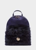 Versace Fuzz Pocket Backpack