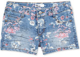 Epic Threads Floral-Print Denim Shorts, Big Girls (7-16), Only at Macy's