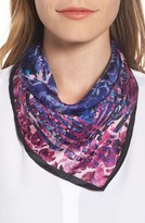 Rebecca Minkoff Women's Painted Floral Silk Bandana