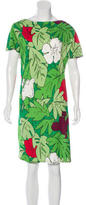 Moschino Cheap & Chic Moschino Cheap and Chic Botanical Print Knee-Length Dress w/ Tags