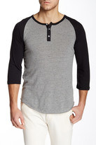 Alternative Eco-Jersey Raglan Henley