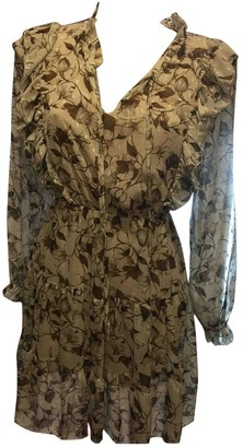 BEIGE Non Signe / Unsigned Dress for Women