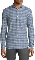 Original Penguin Mini-Plaid Button Down Sport Shirt