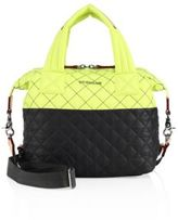 M Z Wallace Water-Resistant Quilted Satchel