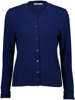 Arpeggio Knitwear Women's Cardigans Deep - Deep Cobalt Button-Up Cardigan - Women