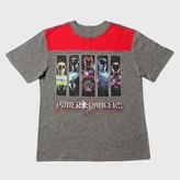 Power Rangers Boy's T-Shirt - Heather Grey