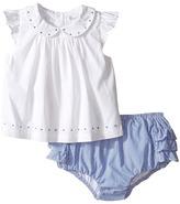 Ralph Lauren Broadcloth Poplin Bloomer Shorts Set (Infant)