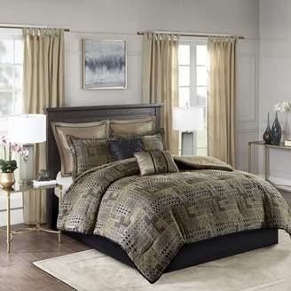 Graydon Home Essence 8 Piece Chenille Jacquard Comforter Set