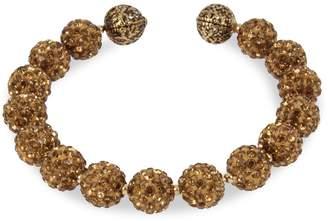 Miriam Haskell Caviar Beaded Coil Bracelet