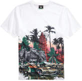 Lrg Men's Angkor Graphic-Print T-Shirt