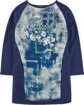 Miss Blumarine Printed fleece top