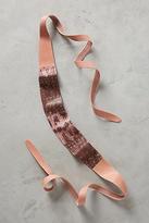 Anthropologie Pink Snake Wrap Belt