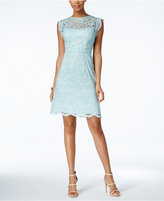 Betsey Johnson Illusion Lace A-Line Dress