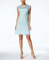 Betsey Johnson Illusion Lace A-Line Dress