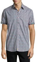Robert Graham Continuum Short-Sleeve Sport Shirt, Multicolor