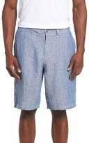 Lucky Brand Men's Chambray Linen Shorts