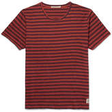 Nudie Jeans Anders Striped Slub Organic Cotton-Jersey T-Shirt