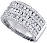 DazzlingRock Collection 1 1/2 Carat DIAMOND LADIES FASHION BAND