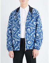 Versace Baroque-print Shell Jacket