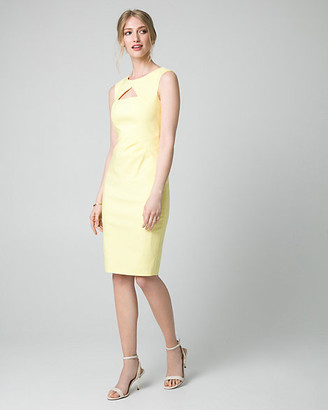 Le Château Tech Cutout Shift Dress