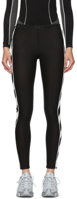 Off-White Off White Black Diag Athletic Leggings