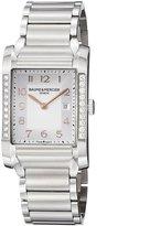 Baume & Mercier Women's BMMOA10023 Hampton Analog Display Quartz Silver Watch