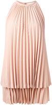 Sara Battaglia pleated dress