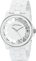 Marc by Marc Jacobs Women's MBM4571 Skeleton Analog Display Analog Quartz Watch