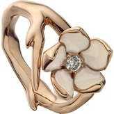 Shaun Leane Sterling silver rose-gold vermeil and diamond ring