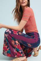 ett:twa Floral Flared Track Pants