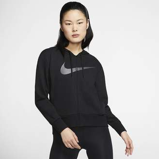 Nike Women's Full-Zip Training Hoodie Dri-FIT Get Fit
