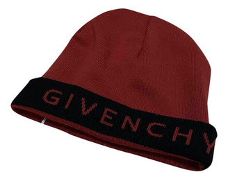 Givenchy Red Wool Hats & pull on hats