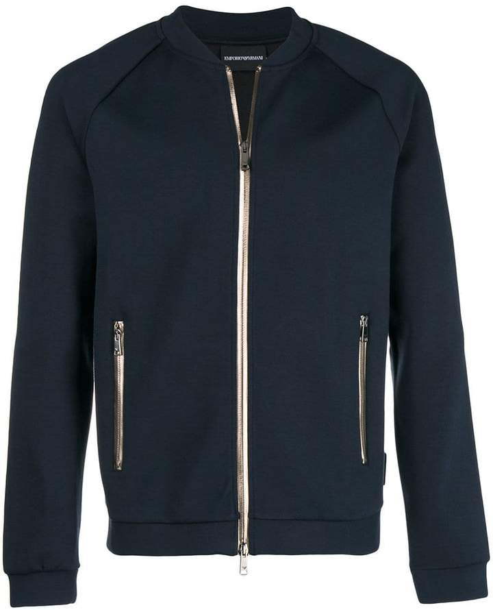 Emporio Armani slim-fit track jacket