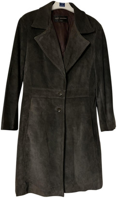 Ventcouvert Grey Leather Coats